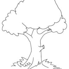 Open Hand Coloring Page Free Printable Tree Pages For Kids