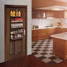 6 Tiers Kitchen Spice Rack Organizer Storage Shelf Pantry Wall