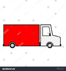 100 Delivery Truck Clipart Filled Outline Icon Stock Vector Royalty