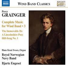 GRAINGER P Wind Band Music Complete Vol 3 Royal Norwegian Navy Engeset