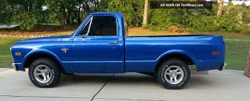 1968 Chevy C10 Cst Shortbed Truck - Fresh 350 W / 200r4 Overdrive
