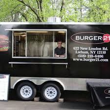 Burger 21 - Latham, NY Food Trucks - Roaming Hunger Food Truck New Hartford Utica Ny Michael Ts Restaurant Nyc Food Truck Festival Youtube Roadblock Drink News Chicago Reader Health Department Will Rate Citys Food Carts Trucks Our Guide For Trucks In Buffalo Eats York Mostly Support Ipections But Seek Regulatory Eat This Fat Bobs The Week In City Of Albany Announces 2015 Mobile Program La Baguette Cafe Mobile Harlem City Flickr