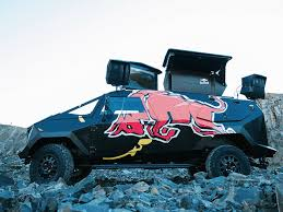 100 Redbull Truck Red Bull Baut Party Im PanzerLook Autozeitungde