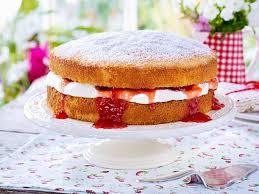 erdbeer sahne kuchen