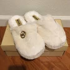 women s mk house slippers on poshmark