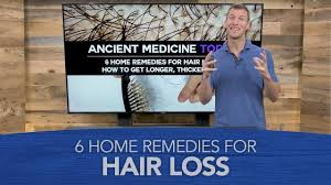 Pumpkin Seed Oil For Hair Loss Dosage by 6 Home Remedies For Hair Loss Youtube