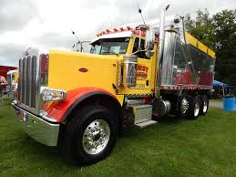 "Semitrckn: ""Peterbilt Custom 389 Tri Axle Dump "" 