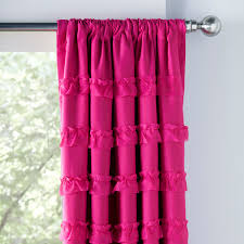 curtains ideas blackout ruffle curtains blackout ruffle as well