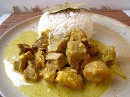 cuisine au lait de coco saute de porc lait de coco et curry palais des lys