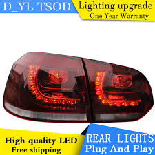 e Stop Shopping Styling for VW Golf 6 Tail Lights 2009 2012 Golf
