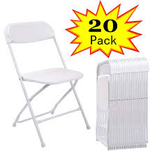JAXPETY Commercial Plastic Folding Chairs Stackable Wedding Party Event  Chair White (20-PACK) White Resin Folding Chair Whosale Ivory Spandex Stretch Cover Wedding Party Chairs Childrens Special Design Hot Sale Cheap Price Outdoor Garden Fniture Folding Us 554 Ikayaa De Stock 2pcs Patio Outdoor Ding Garden Beach Camping Stool Fniture 2pcsset Chairsin Dobsons Marquee Hire Goture Fishing Max Load 150kg Super Lweight With Weddings Massage How To Start A Rental Business Foldingchairsandtablescom 5pack Plastic Banquet Seat Premium Event Black Celebration
