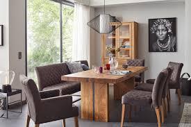 esstisch natura lakewood eiche massiv mit metallstreifen möbelhaus pohl wilhelmshaven friesland