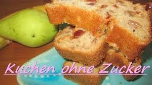 kuchen ohne zucker früchtekuchen rezept für babys