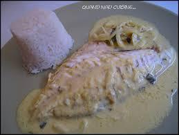 cuisiner la dorade daurade au lait de coco et au curry quand nad cuisine