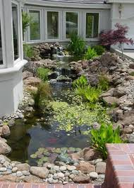 50 Beautiful Backyard Fish Pond Garden Landscaping Ideas | Fish ... Diy Backyard Stream Outdoor Super Easy Dry Creek Best 25 Waterfalls Ideas On Pinterest Water Falls Trout Image With Amazing Small Ideas Pond Pond Stream And Garden Plantings In New Garden Waterfall Pictures Waterfalls Flowing Away 868 Best Streams Images Landscaping And Building Interesting Joans Idea For Rocks Against My Railroad Ties Beautiful Yard 32 Feature Design Design Waterfall Ponds Call Free Estimate Of