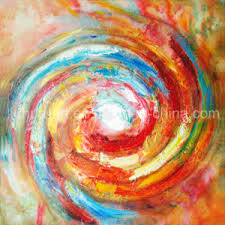 Decorative Simple Abstract Watercolor Paintings LH 137000