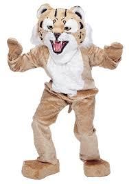 Halloween Express Austin Powers by Mascot Wildcat Costume Mascot Costumes