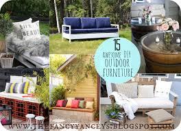 garden week 15 awesome diy outdoor furniture ideas vintage