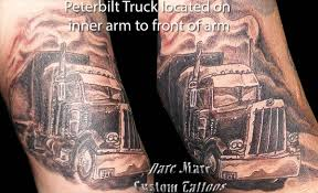 100 Semi Truck Tattoos Tattoo Designs Peterbilt