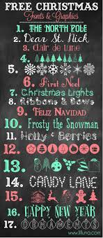 Free Christmas Fonts Fonts Pinterest Fuentes Tipografía Y Letras