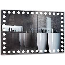 arttor spiegel mit licht bathroom mirror with light badezimmer dekoration und badezimmerausstattung wandspiegel groß und klein unterschiedliche