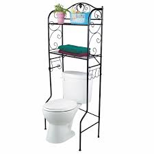 Mainstays 2 Cabinet Bathroom Space Saver by Amazon Com Vdomus Bathroom Space Saver Over The Toilet Wire Shelf