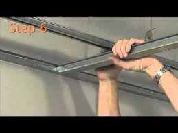 how to install the rondo key lock suspended ceiling system youtube