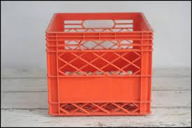 Vintage Plastic Milk Crates