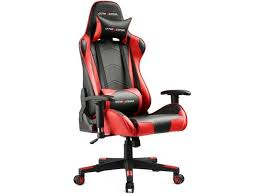 Reclining Gaming Chair With Footrest by Gaming Chair Chairs Newegg Com