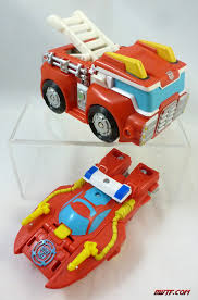 100 Rescue Bots Fire Truck Heatwave The Bot Boat Toy Review BWTF