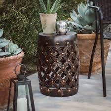 Copper Garden Stools