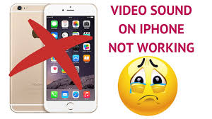 iphone 6s sound not working when recording videos