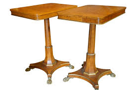 A Pair Of Antique Maple Occasional Tables - B5867 / LA101888 ... Vintage Antique Maple Ding Room Table And Six Chairs Angelus Drop Leaf With Hidden Folding White Wood Kitchen Set House Architecture Design 195039s With Hutch For Sale 48 Madison Extdabench Shown In Brown An Solid Ambrosia Grey Stain And Distressed Antique White Ding Room Table Chairs Interiors Oak Vs Fniture Type Value Chart Imerologioinfo Slate Home Interior Blog Nichols Stone Rock Spindle Back Side Chair 2044 20 Ethan Allen Herloom Fddleback Duxbury Dnng Sde Ebay Rocking Burr Walnut Plus 6 Marylebone