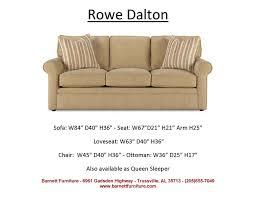 Rowe Nantucket Sleeper Sofa by 34 Best Average Size Sofas 84