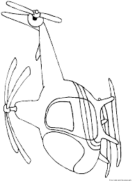 Printable Helicopter Coloring Pages For KidsFree
