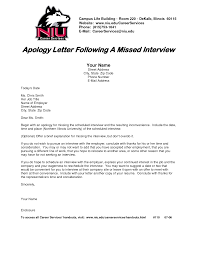 Inspiring Sample of Apology Letter Following a Missed Interview