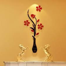 3d Vase Wall Murals For Living Room Bedroom Sofa Backdrop Tv Background Originality Stickers