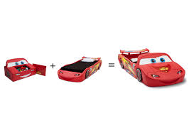 Lighting Mcqueen Toddler Bed by Disney Cars Convertible Toy Box Twin Bed Walmart Canada