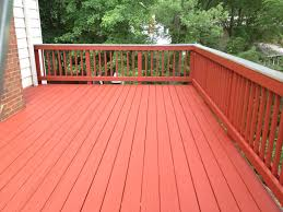 Behr Premium Deck Stain Solid by Deck Staining Solid Color Stain Navajo Red Sikkens Decks