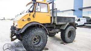 100 Unimog Truck Find Of The Week 1980 MercedesBenz AutoTRADERca