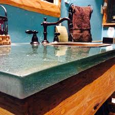 100 Countertop Glass Evergreen Colored Bathroom For Showers And Vanities