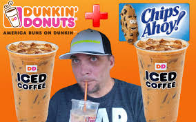 Pumpkin Spice Latte Dunkin Donuts 2015 by Dunkin U0027 Donuts New Chips Ahoy Iced Coffee Review 136 Youtube