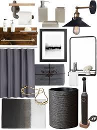 Rustic Industrial Bathroom Mirror by Create The Look Warm Industrial Bathroom Shopping Guide