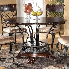 Ashley Kitchen Table Set Best Choice Of Dining Room Stunning Furniture Round Regarding Amazing Property