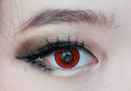 Prescription Halloween Contacts Australia by Cosmetic Colored Contact Lenses Harajuku Storm Halloween Red