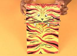 How To Make Paper Bag Tiger Online 123Peppy