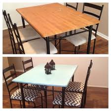 Small Kitchen Table Ideas Pinterest by Diy Small Dining Table Redo Home Is Where The Heart Is