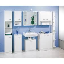 fackelmann badezimmerschrank standard 185 cm weiß