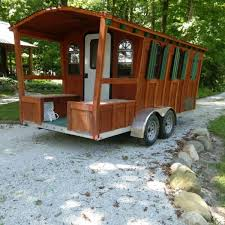 100 Gypsy Tiny House Wagon Tiny House For Sale In Russiaville Indiana Listings