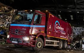 Cawleys Invests In Double-drive Mercedes-Benz Antos For Waste ...